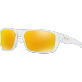 Oakley Drop Point Sykkelbriller Orange/Transparent
